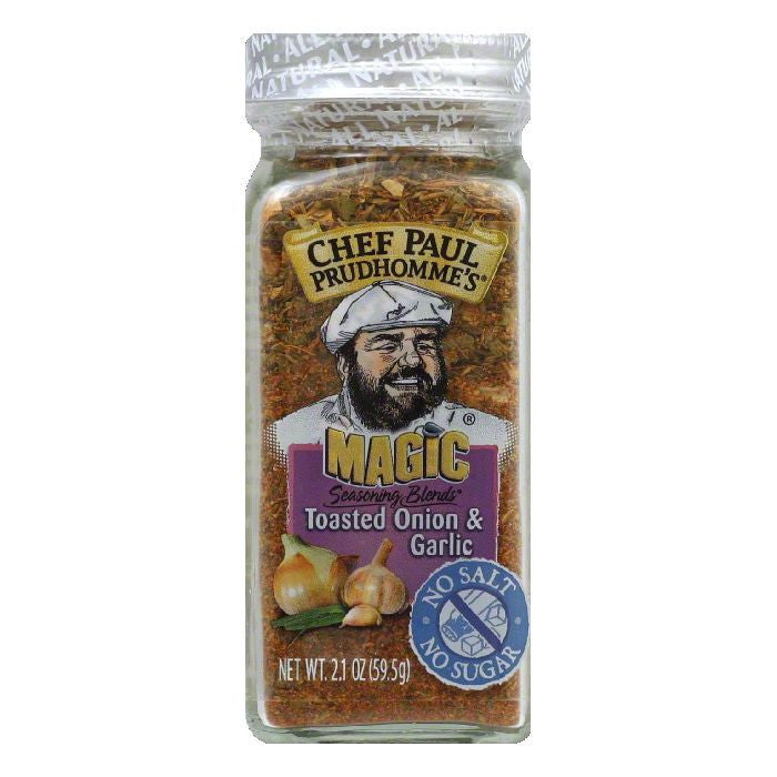 Magic Seasoning Blends Salt Free Sugar Free Toasted Onion Seasoning, 2.1 OZ (Pack of 6)