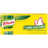Knorr Hispanic Chicken Cubes Bouillon 24 Ct  (Pack of 36)