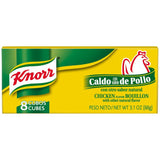 Knorr Hispanic Chicken Cubes Bouillon 3.1 Oz  (Pack of 24)