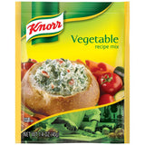 Knorr Vegetable Recipe Mix 1.4 Oz Packet (Pack of 12)