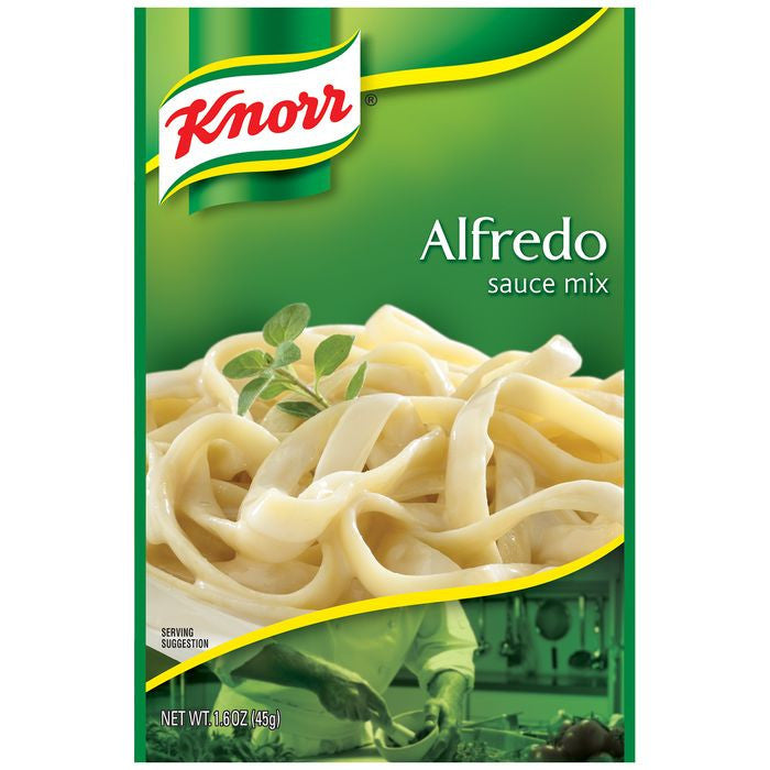 Knorr Alfredo Sauce Mix 1.6 Oz Packet (Pack of 12)