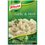Knorr Garlic & Herb Sauce Mix 1.6 Oz Packet (Pack of 12)