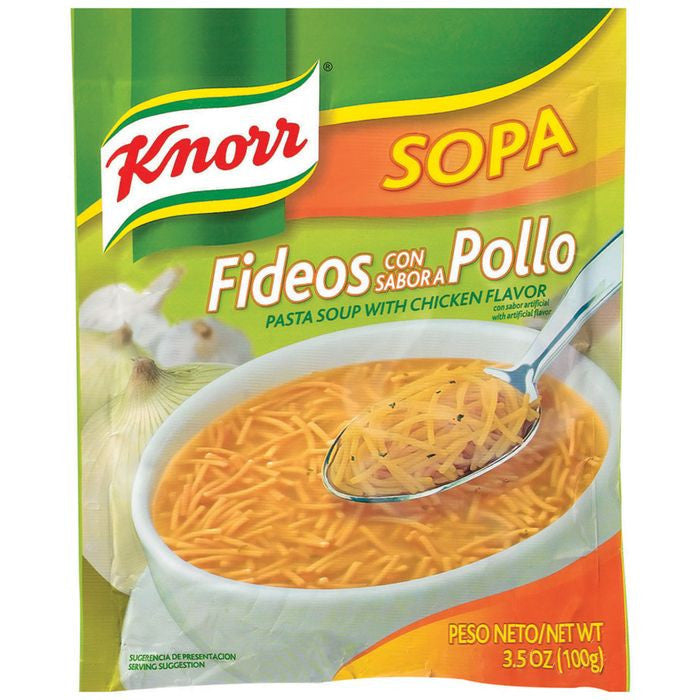 Knorr Pasta with Chicken Soup 3.5 Oz Packet (Pack of 12)