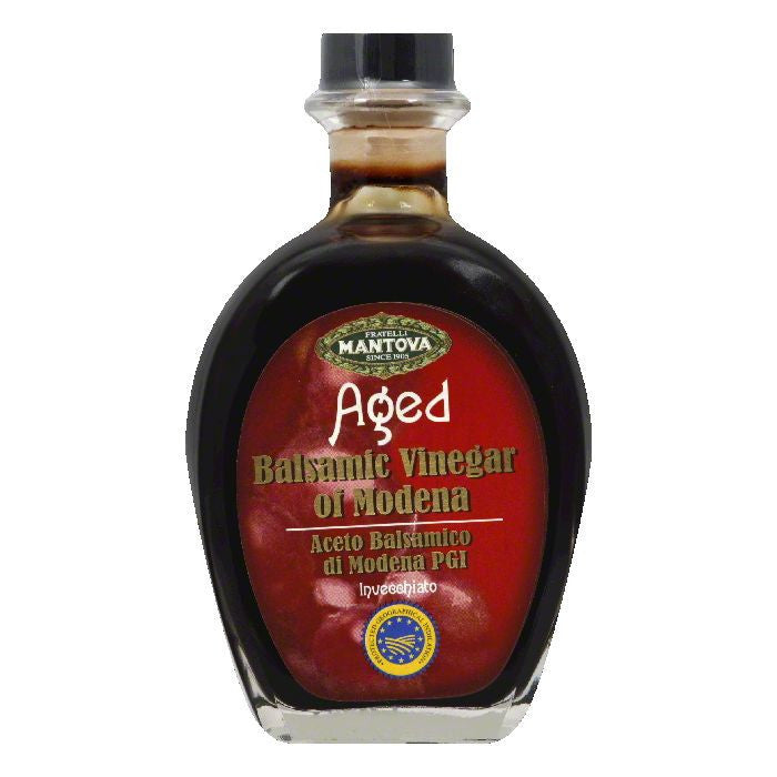 Mantova of Modena Balsamic Vinegar, 8.5 OZ (Pack of 6)