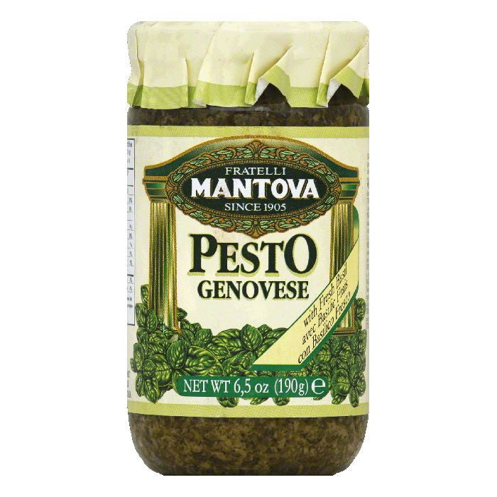 Mantova Genovese Pesto, 6.5 Oz (Pack of 12)