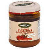 Mantova Sundried Tomatoes Bruschetta Topping, 6 Oz (Pack of 6)
