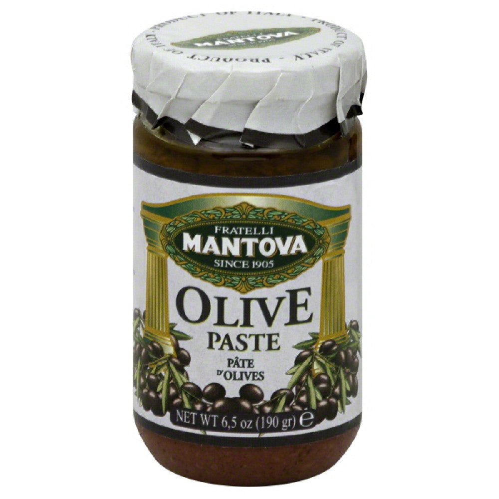 Mantova Olive Paste, 6.5 Oz  ( Pack of  6)