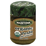 Mantova Organic Alla Genovese Pesto with Basil, 4.6 Oz (Pack of 12)