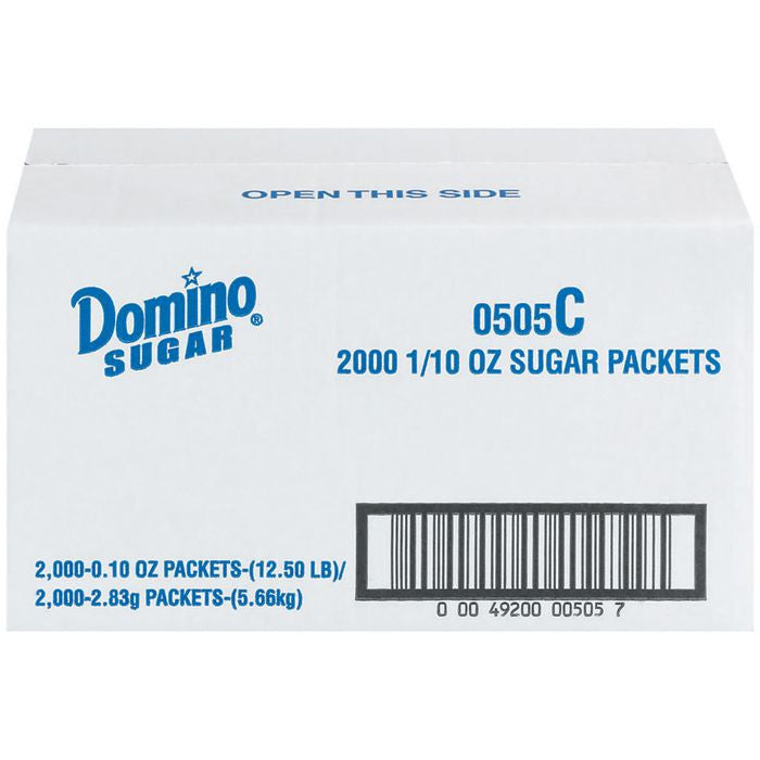 Domino Packets Sugar 2000 Ct