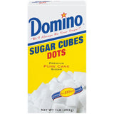 Domino Dots Pure e 126 Ct Sugar Cubes 1 Lb  (Pack of 12)