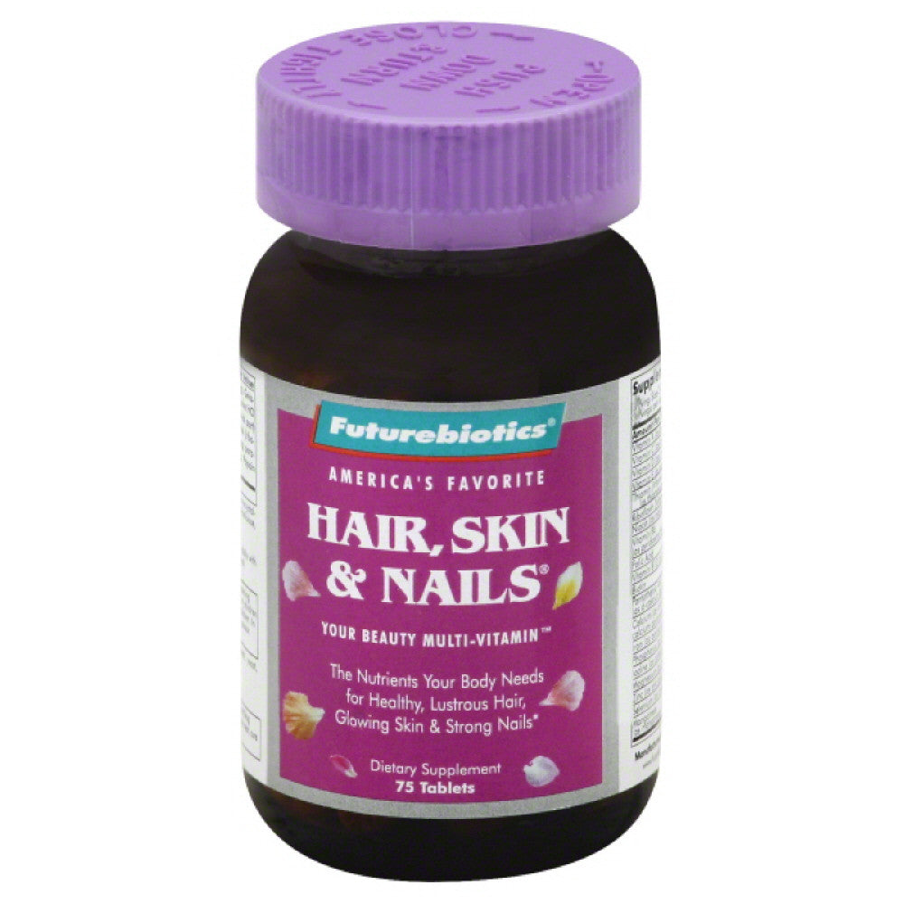 Futurebiotics Skin & Nails Hair Multi-Vitamin, 75 Tb