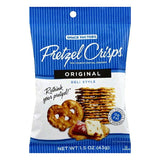 Pretzel Crisps Original Crunchy Thin Pretzel Crackers, 1.5 OZ (Pack of 24)