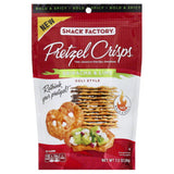 Pretzel Crisps Sriracha & Lime Deli Style Pretzel Crackers, 7.2 Oz (Pack of 12)