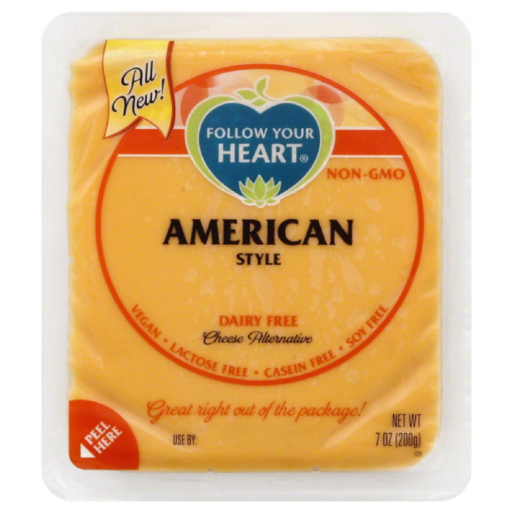 Follow Your Heart American Style Dairy Free Cheese Alternative, 7 Oz (Pack of 13)