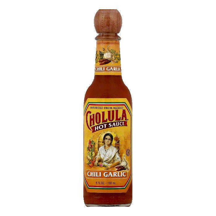 Cholula Chili Garlic Hot Sauce, 5 OZ (Pack of 6)