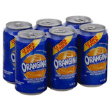 Orangina Sparkling Citrus Beverage with Natural Pulp, 12 Fo (Pack of 4)