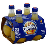 Orangina Sparkling Citrus Beverage with Orange Pulp!, 10 Fo (Pack of 6)