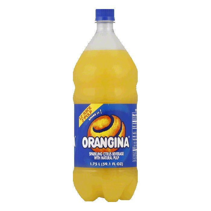 Orangina Drink PET Bottle, 1.75 FO (Pack of 8)