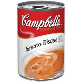 Campbell's Tomato Bisque R&W Condensed Soup 11 Oz  (Pack of 12)