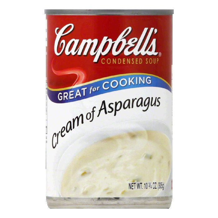Campbells Cream Of Asparagus Condensed Soup, 10.75 OZ (Pack of 12)