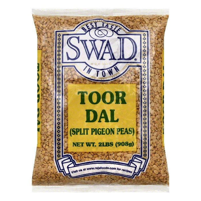 Swad Toor Dal, 2 lb (Pack of 6)