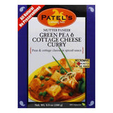 Patel Green Pea Cottage Cheese Curry, 9.9 OZ (Pack of 10)