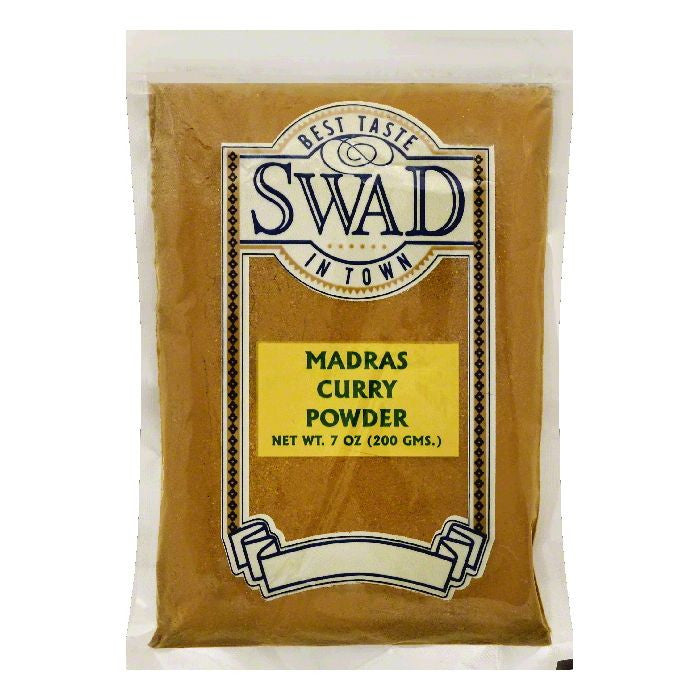 Swad Madras Curry Powder, 7 OZ (Pack of 10)