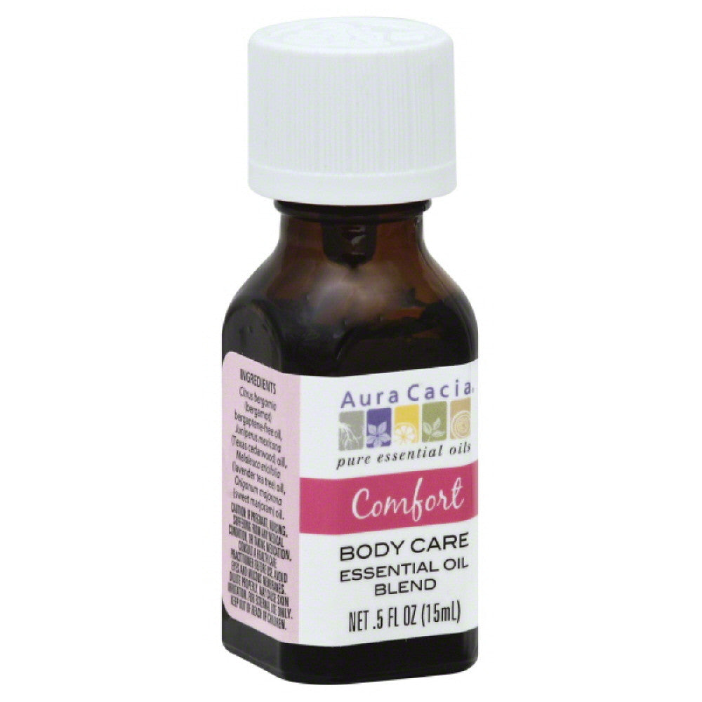 Aura Cacia Comfort Body Care Essential Oil Blend, 0.5 Oz