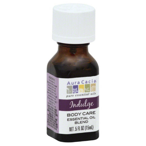 Aura Cacia Indulge Body Care Essential Oil Blend, 0.5 Oz