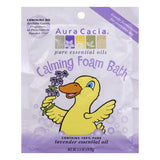 Aura Cacia Lavender Essential Oil Calming Foam Bath, 2.5 Oz (Pack of 6)