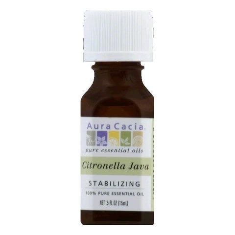 Aura Cacia Citronella Java Stabilizing 100% Pure Essential Oil, 0.5 Oz