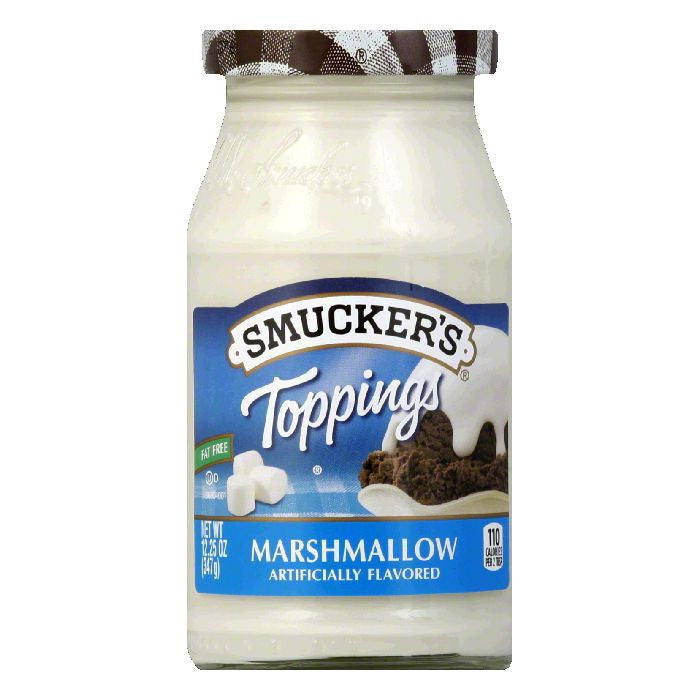Smucker's Topping Marshmallow, 13 OZ (Pack of 6)