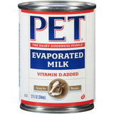 Pet Evaporated Milk 12 fl oz  (Pack of 24)