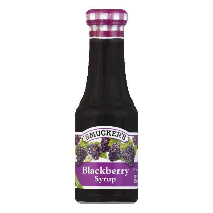 Smucker's Syrup Blackberry, 12 OZ (Pack of 6)