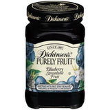 Dickinson's Purely Blueberry Spreadable Fruit 9.5 Oz   (Pack of 6)