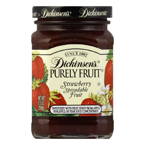 Dickinsons Strawberry Purely Fruit, 9.5 OZ (Pack of 6)