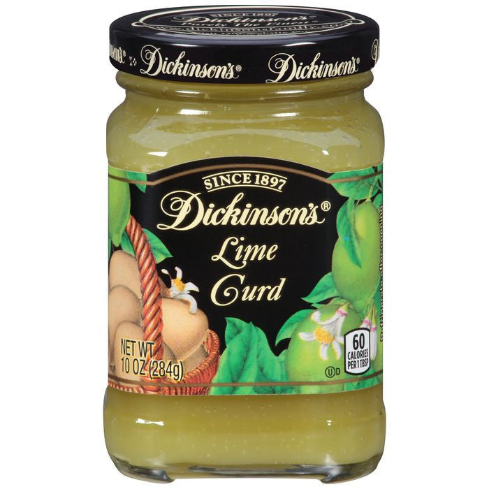 Dickinson's Lime Curd 10 Oz  (Pack of 6)