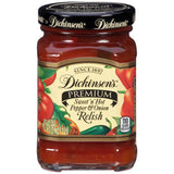 Dickinson's Sweet 'n' Hot Pepper & Onion Relish 8.75 Oz  (Pack of 6)