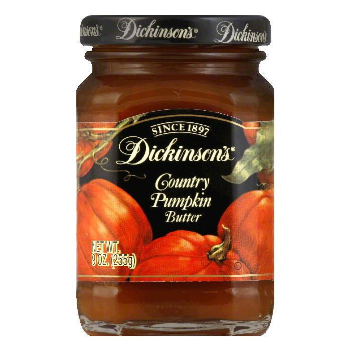 Dickinsons Pumpkin Butter, 9 OZ (Pack of 6)