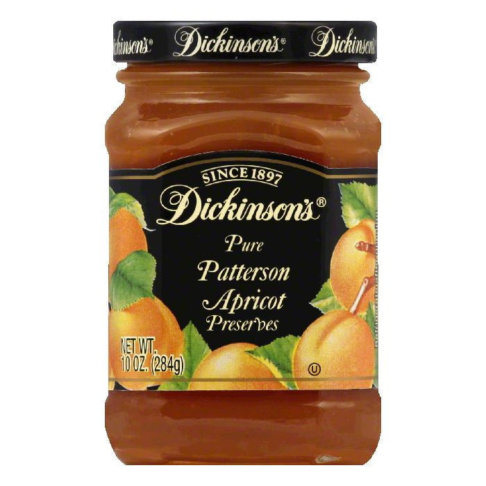 Dickinsons Apricot Preserves, 10 OZ (Pack of 6)
