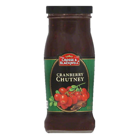 Crosse & Blackwell Chutney Cranberry, 8.5 OZ (Pack of 6)