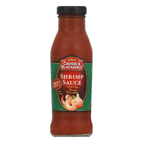 Crosse & Blackwell Shrimp Sauce Zesty, 12 OZ (Pack of 6)