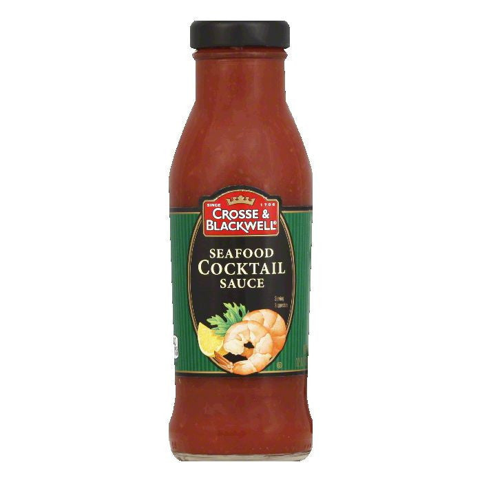 Crosse & Blackwell Cocktail Sauce Seafood, 12 OZ (Pack of 6)
