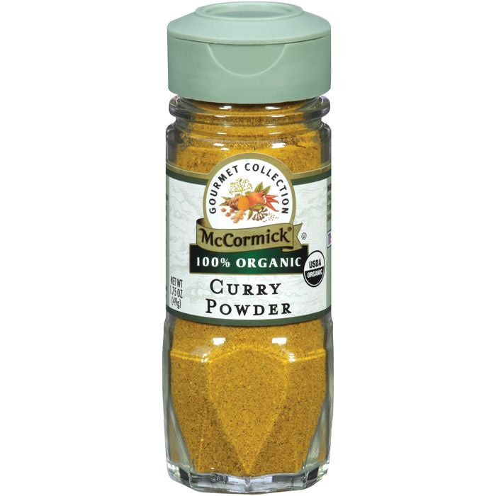 McCormick Gourmet Collection 100% Organic Curry Powder 1.75 oz (Pack of 3)