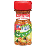 Perfect Pinch Salad Supreme Seasoning 2.62 Oz (Pack of 6)