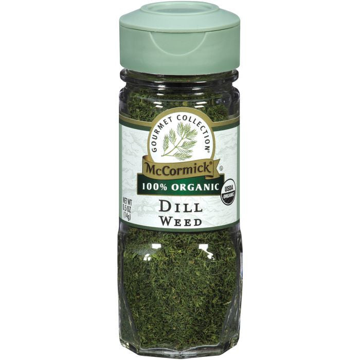 McCormick Gourmet Collection 100% Organic Dill Weed (Pack of 3)