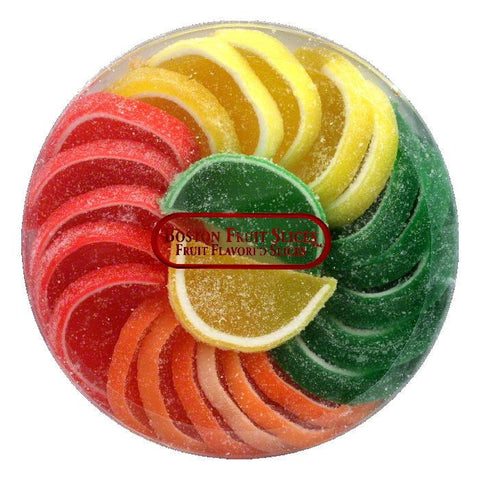 Boston Boston fruit slices round, 11 OZ (Pack of 10)