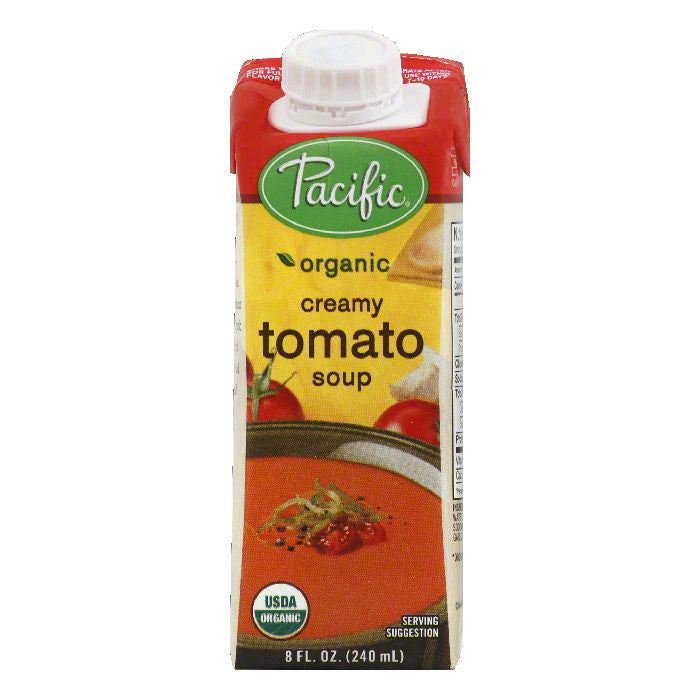 Pacific Creamy Tomato Soup, 8 OZ (Pack of 12)