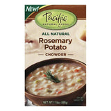 Pacific Foods Rosemary Potato Chowder Soup, 17 OZ (Pack of 12)
