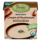 Pacific Foods Cream Mushroom Condensed Soup, 12 OZ (Pack of 12)